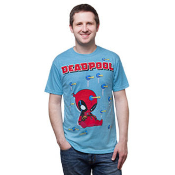 Deadpool Darts tee