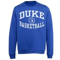 Duke Blue Devils Reversal BB Crew Sweatshirt - Royal Blue