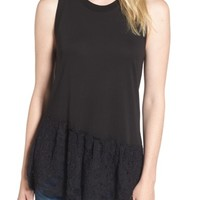 AG Demi Lace Peplum Tank | Nordstrom
