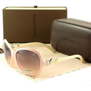 Louis Vuitton Women Casual Sun Shades Eyeglasses Glasses Sunglasses