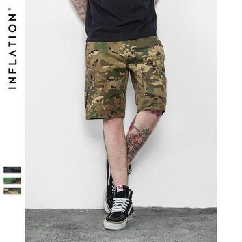 ac NOOW2 INFLATION | 2016 Brand Mens Military Cargo Shorts New Army Camouflage Shorts Men Cotton Loose Work Casual Short Pants Plus Size