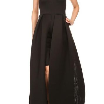 Lizzy sweetheart neckline maxi dress
