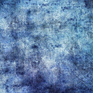 Denim Skies Blue Abstract Backdrop Printed Photography Backdrop / 9977