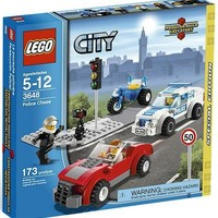 3648 POLICE CHASE * Special Edition * LEGO 2011 City Series 173pc Set (Includes 3 Minifigures)