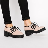 ASOS SAID AND DONE Suede Creepers