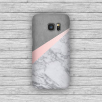 Rose Gold Marble Concrete