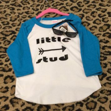Little Stud- Custom kids tshirt