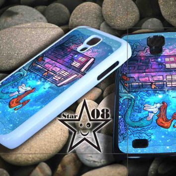 little mermaid tardis iPhone Case, iPhone 4/4S, 5/5S, 5c, Samsung S3, S4 Case, Hard Plastic and Rubber Case By Dsign Star 08