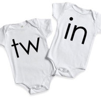 Twin Onesuits, mom of twins, matching clothing set,pregnancy announcement, mom of boys, mom of girls,twins, matchinf clothes,mom of multiples