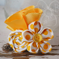 Polka Dot Party hair clip from VioletsBuds