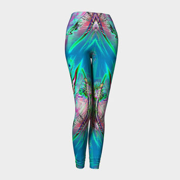 Awaken, Compression fit performance Leggings, XS,S,M,L,XL, Hot Yoga Pants, Activewear Hand Made in Canada