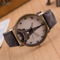 2017 men fashion watches luxury men watch cowboy leather strap clock mens analogue watch military