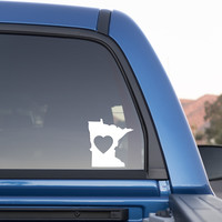 Minnesota Love Sticker for Cars and Trucks