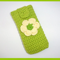 Crochet iphone case