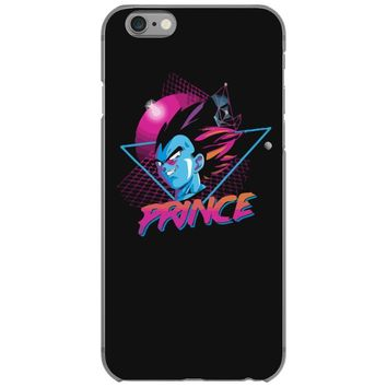 80's saiyan prince iPhone 6/6s Case