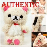 Authentic iPlush Plush Toy Cell Phone Case for Apple iPhone 4/4S (White Bear)