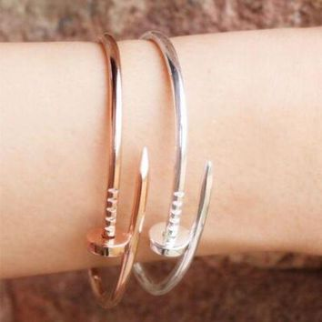 Cartier Stylish Screw Bracelet Simple Nail Bracelet I
