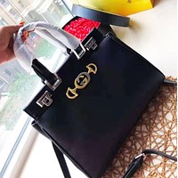 GUCCI Fashion High-end Atmosphere Casual Briefcase Tote Shoulder Crossbody Bag