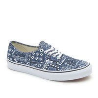 Vans Authentic Van Doren Shoes - Mens Shoes - Blue