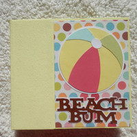 6 x 6 Beach Vacation Scrapbook Album