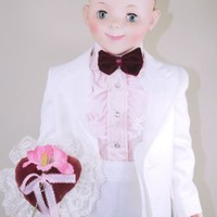 "Sandy McCall Playpal Companion Doll 35"" American Character 1959 Hard to Find"