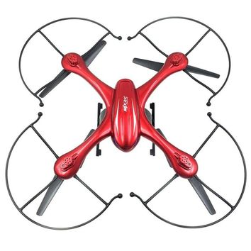 MJX X102H RC Quadcopter with Camera Mounts for Gopro/SJ Camera Upgraded X101 Drone Red