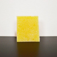Lemon Soap Bar Handmade Soap Homeade Soap Natural Soap Vegan Soap Palm Oil Free Soap Cold Process Soap Scrub Soap Hand Soap Body Soap Sample