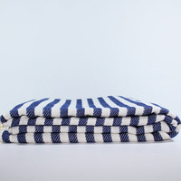 Navy Beach Towel | Peshtemal Towel | Turkish Beach Towel | Beach blanket | Bath towel | Yoga Towel |Navy Sarong | Turkish Towel | Beach wrap