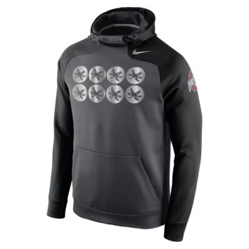 Nike Championship Drive Hyperspeed Pullover (Ohio State) Men's Training Hoodie