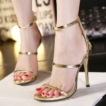 Taylor Ankle Strap Pumps