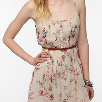 Thistlepearl Chiffon Floral Print Dress
