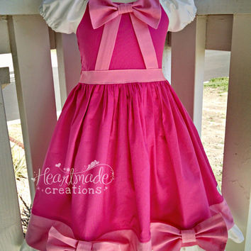 Cinderella Dress - Pink Gown - Princess Inspired Dress - Costume - Sizes 6/12 months through 10