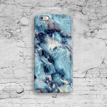Blue Marble iPhone 6 Case, Marble iPhone 6S Case, Marble iPhone 7 case, iPhone 7 Plus, iPhone 6S Plus, 4 4S 5 5S 5C SE Cool Granite Space