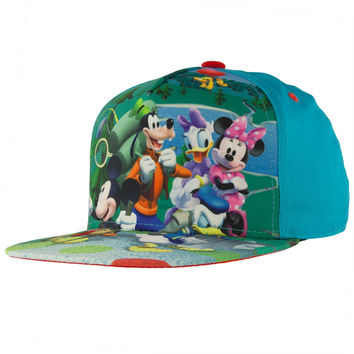 Mickey Mouse - Mickey & Friends All-Over Kids Adjustable Baseball Cap