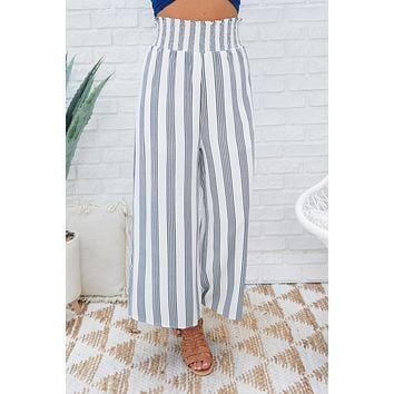 Stripes And Things Pants (White/Black)