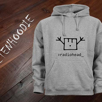 radiohead happy hoodie sweatshirt jumper t shirt variant color Unisex size