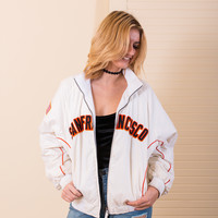 San Francisco Giants Vintage Sport Jacket