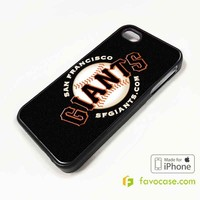 SAN FRANCISCO GIANTS 2 Baseball Team MLB iPhone 4/4S 5/5S/SE 5C 6/6S 7 8 Plus X Case Cover