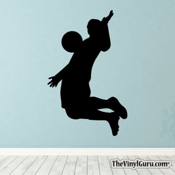Soccer Wall Decal - Man Futbol Player Sticker #00017