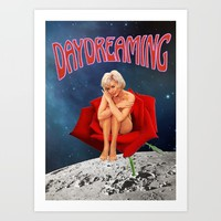 Daydreaming  Art Print by Lexi Colt