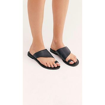 Free People Sant Antoni Slide Black