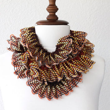 SALE Ruffle Scarf Long Scarf
