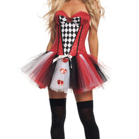 Red Tutu Dress Queen Costume