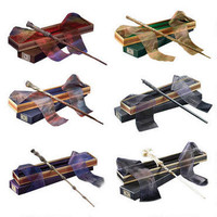 Harry Potter Wizarding Wand Collection Set of 6 |