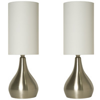 Touch Table Lamps 18 Inches Tall with 3-way Dimmer (2 Pack)