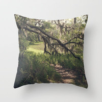 Southern Secrets I Throw Pillow by CMcDonald
