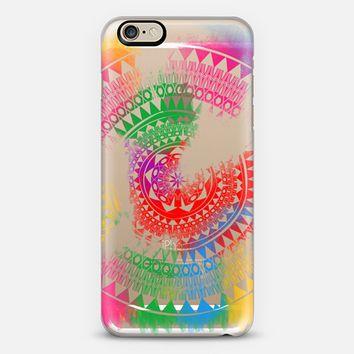 Watercolor distressed lace mandala iPhone 6 case by Famenxt | Casetify