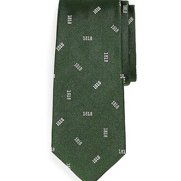 Silk 1818 Tie - Brooks Brothers