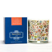 Karen Klein Florence Collection - Cedar, Calla Lily & Blood Orange Candle