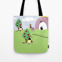 Off with Her Head! Tote Bag by lalainelim